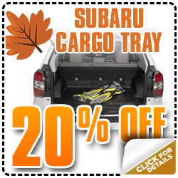 Subaru OEM Cargo Trays Parts Discount Coupon