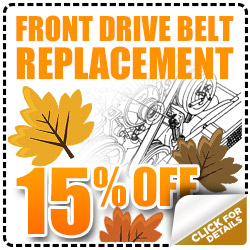 Front Drive Belt Subaru Replacment Service Special serving Denver & Thornton, Colorado