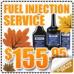 Subaru Fuel Injection Service Special serving Denver & Thornton, Colorado