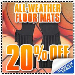 All-Weather Subaru Floor Mats Parts Special