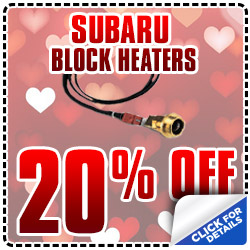 Subaru OEM Engine Block Heater Parts Special Discount
