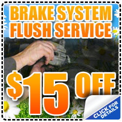 Subaru Brake System Flush Service Discount Coupon from Mike Shaw Subaru