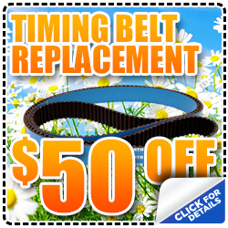 Mike Shaw Timing Belt Replacement Special Savings