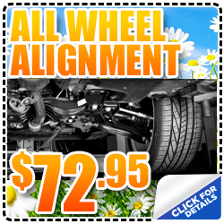 Denver Subaru All-Wheel Alignment Service Special Discount Coupon serving Thornton, CO