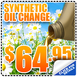 Subaru Synthetic Oil Change & Oil Filter Change Service Special