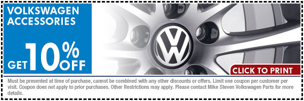 Volkswagen Spend And Save Parts Special Wichita Ks