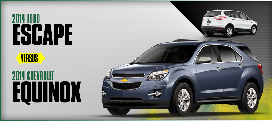 ford escape vs chevrolet equinox review new cars new html autos weblog. Black Bedroom Furniture Sets. Home Design Ideas