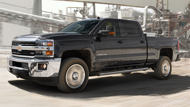 New 2015 Chevrolet Silverado 2500HD Features ...