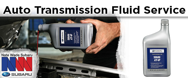 Subaru automatic transmission fluid change service information from Nate Wade Subaru in Salt Lake City, UT