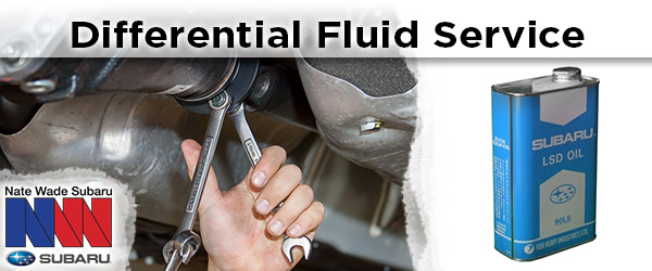 Subaru front or rear differential fluid change service information from Nate Wade Subaru in Salt Lake City, UT