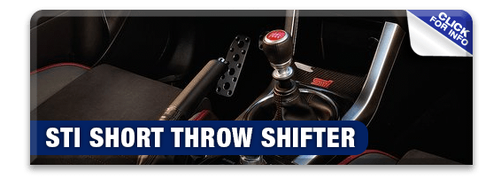 Click to learn more about genuine Subaru performance parts like a Performance Short Throw Shifter available at Nate Wade Subaru in Salt Lake City, UT
