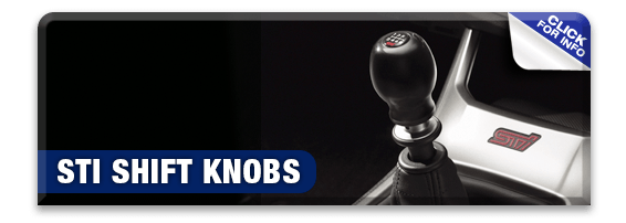 Click to learn more about genuine Subaru performance parts like STI shift knobs available at Nate Wade Subaru in Salt Lake City, UT