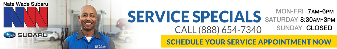 Visit the Nate Wade Subaru service, maintenance and repair center for all your Subaru service needs in Salt Lake City, UT