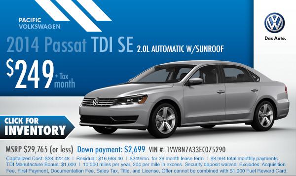 volkswagen special sales offers los angeles torrance ca discounts