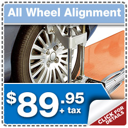 Save on your All Wheel Alignment at Puente Hills Subaru serving City of Industry & Fullerton, California