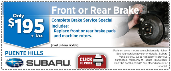 Brake deals coupons