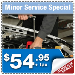 Minor Maintenance Savings at Puente Hills Subaru serving City of Industry & Fullerton, California