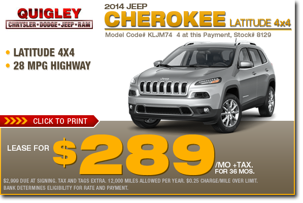 new 2015 jeep cherokee specials low payment lease purchase offers. Black Bedroom Furniture Sets. Home Design Ideas