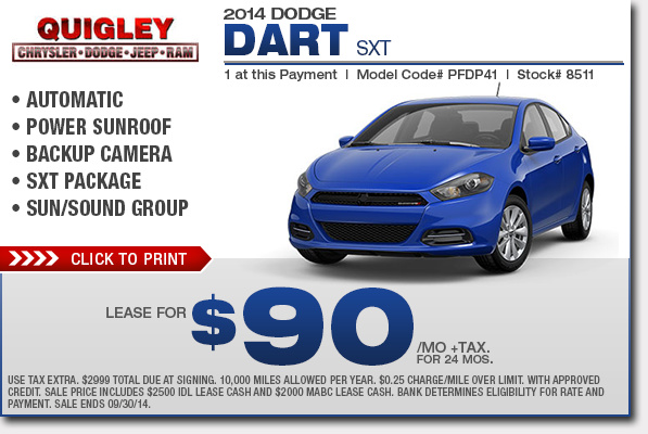 new 2015 dodge dart specials low payment lease purchase offers. Black Bedroom Furniture Sets. Home Design Ideas