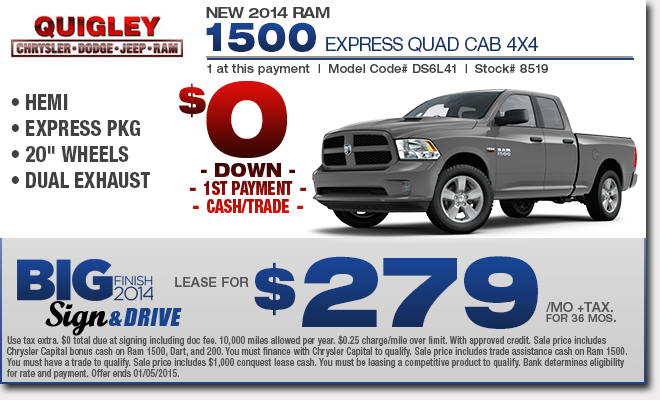new ram 1500 truck specials boyertown lease sales deals. Black Bedroom Furniture Sets. Home Design Ideas