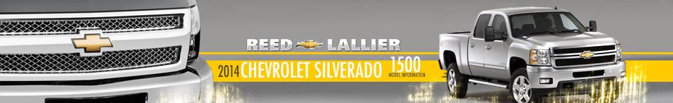 New 2014 Chevrolet Silverado 1500 Model Specs