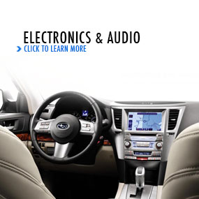 Click to learn more about Subaru electronics and  audio