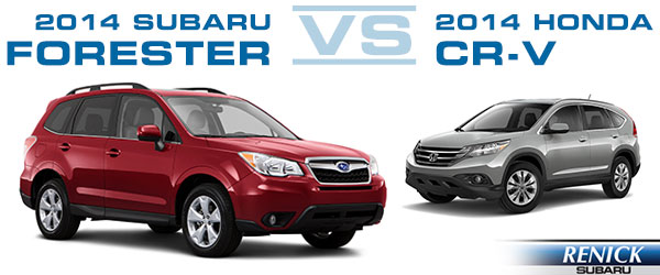 2014 Subaru Forester Vs Rav4 Cr V And Cx 5 Who Wins | Auto Design Tech