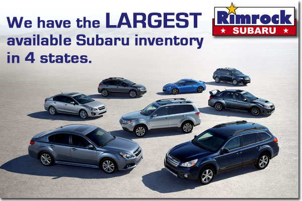 Visit us to take a look through our Vast New & Used Subaru Inventory in Billings, Montana!