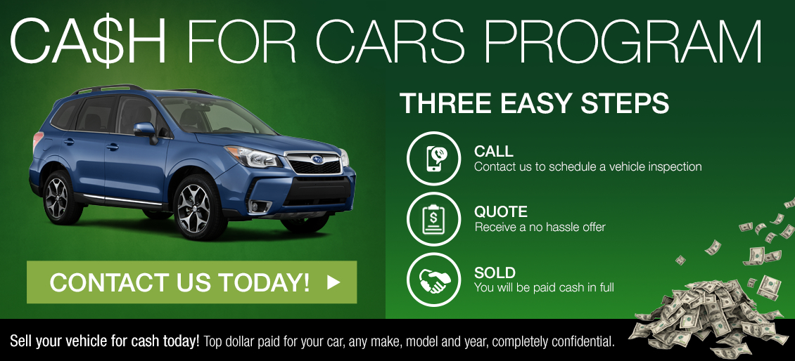 Sell Subaru for Cash - Subaru Car Buyers New ZealandUsed car guys
