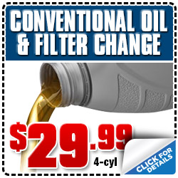 Subaru 4-Cylinder Conventional Oil Filter Change Service Special Coupon Los Angeles, CA