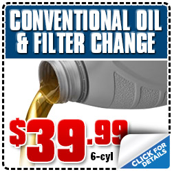 Subaru 6-Cylinder Conventional Oil Filter Service Special Coupon Los Angeles, CA