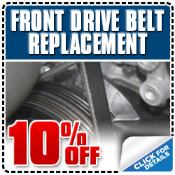 Subaru Timing Belt Service Special Coupon Los Angeles, CA
