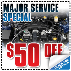 Subaru Major Service Special Coupon Los Angeles, CA