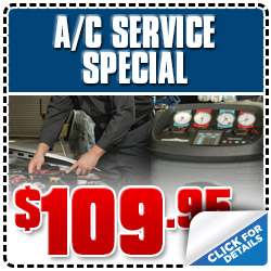 Subaru of Glendale A/C Inspection Service Special Coupon serving Los Angeles, California