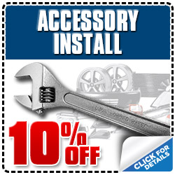 Subaru of Glendale Genuine Accessory Installation Service Special Coupon serving Los Angeles, California