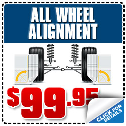 Subaru of Glendale All-Wheel Alignment Service Special Coupon serving Los Angeles, California