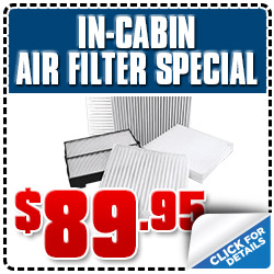 Subaru of Glendale Cabin Air Filter Replacement Service Special Coupon serving Los Angeles, California