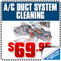 Glendale Subaru A/C Duct System Cleaning Service Special Discount Coupon serving Los Angeles, California