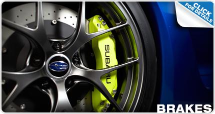Subaru Brake Pads and Rotors Parts