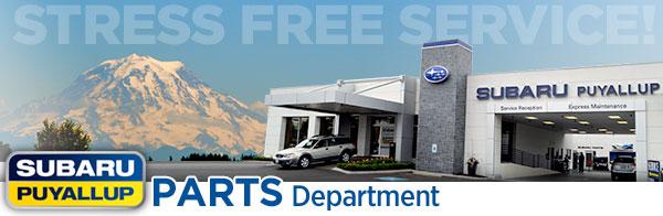 Puyallup Subaru Parts Specials & Accessory Discount Coupons