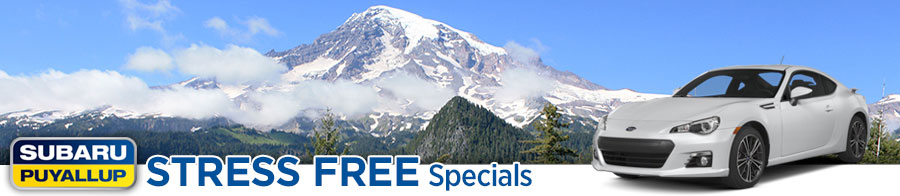 Stress Free Discount Specials In All Subaru of Puyallup Departments