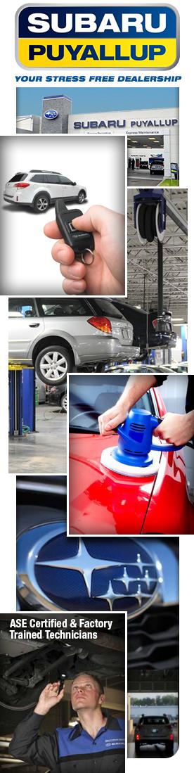 Subaru of Puyallup Service & Car Parts