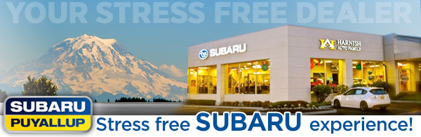 Stress-Free Customer Service at Subaru of Puyallup serving Auburn, Tacoma & Olympia, WA