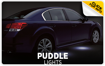 Learn more about Genuine Subaru parts and accessories - Puddle Lights Information - Get them at Subaru of Puyallup serving Tacoma, WA