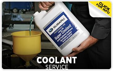 Subaru Coolant Service Puyallup, WA