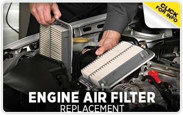 Subaru Engine Air Filter Service Puyallup, WA