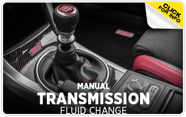 Subaru manual transmission fluid change service information - Puyallup, WA