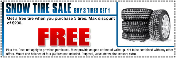 Subaru Snow Tire Parts Special Puyallup, WA