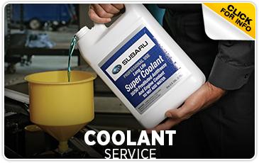 Subaru Pacific Coolant Service