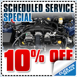 Subaru Scheduled Maintenance Service Special serving Manhattan Beach & Torrance, CA